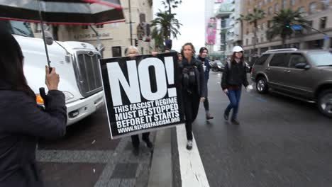Native-Americans-in-Hollywood-marching-and-chanting-against-the-Dakota-access-pipeline-5