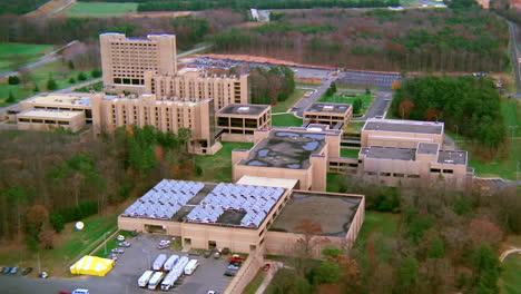 Vista-Aérea-over-Quantico-Marine-army-military-Headquarters-in-Virginia