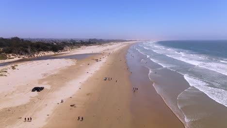 An-Excellent-Aerial-Shot-Of-Tourists-Enjoying-Pismo-Beach-California-1