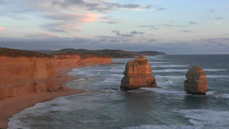 The-Twelve-Apostles-Rock-Formation-Stands-Out-On-The-Australian-Coast