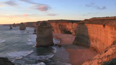 The-Twelve-Apostles-Rock-Formation-Stands-Out-On-The-Coast-Of-Australia