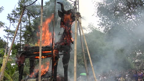 A-Brahma-Bull-Burns-During-A-Balinese-Cremation-Ceremony