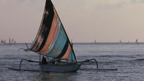 A-Catamaranstyle-Fishing-Boat-Comes-Into-Shore-1