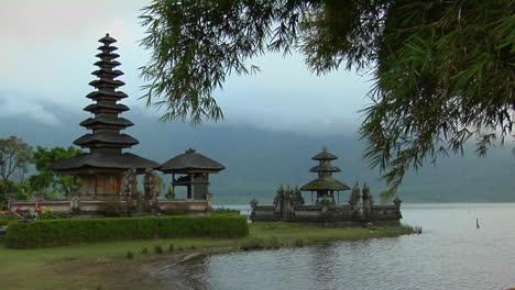 Morning-Fog-And-Mist-Surround-The-Ulun-Danu-Temple-In-Lake-Bratan-Bali-Indonesia