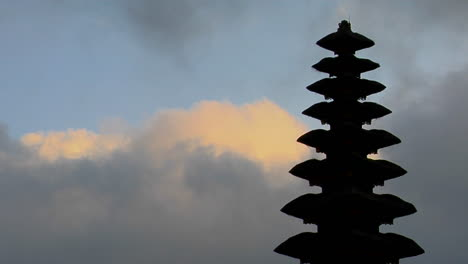 Part-Of-A-Balinese-Temple-Stands-In-Silhouette-3