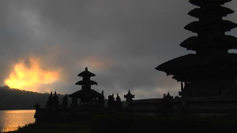 A-Balinese-Temple-Overlooks-Reflections-In-A-Lake-2