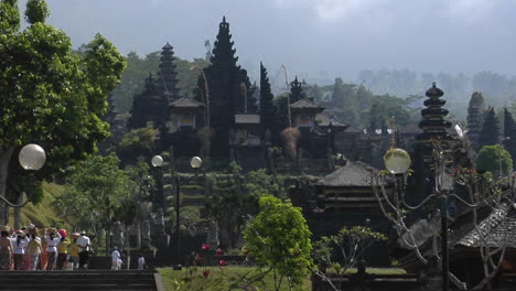 Visitors-Approach-A-Balinese-Temple-Complex