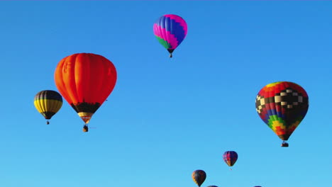 Colorful-Balloons-Rise-Above-The-Albuquerque-Balloon-Festival-2