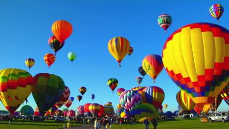 Pan-Across-Beautiful-Balloons-Launching-At-The-Albuquerque-Balloon-Festival