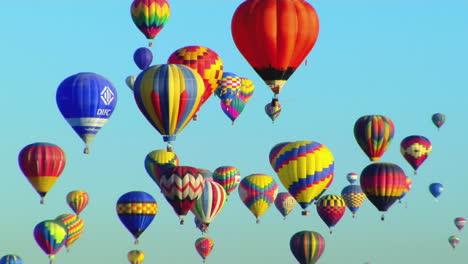Balloons-Float-Across-The-Sky-At-The-Albuquerque-Balloon-Festival