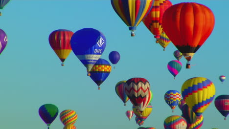 Colorful-Balloons-Launch-At-The-Albuquerque-Balloon-Festival-4