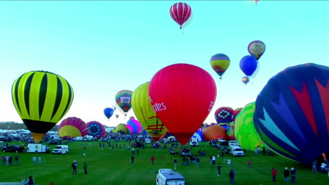 Time-Lapse-Shot-Of-Balloons-Filling-And-Rising-At-The-Albuquerque-Balloon-Festival-1
