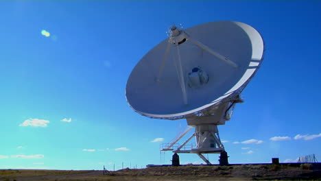 A-Time-Lapse-Of-A-Huge-Satellite-Dish-Moving