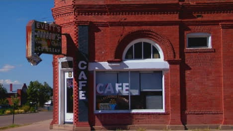 A-Cafe-In-A-One-Story-Brick-Building