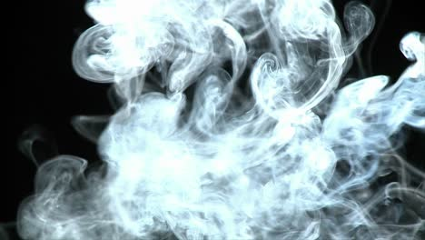 White-smoke-flows-through-the-air