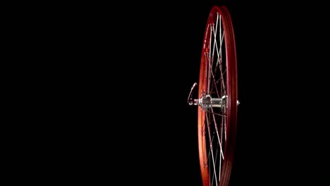 A-wheel-with-spokes-revolves