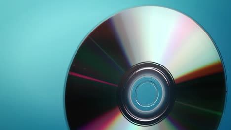 A-DVD-disc-rotates