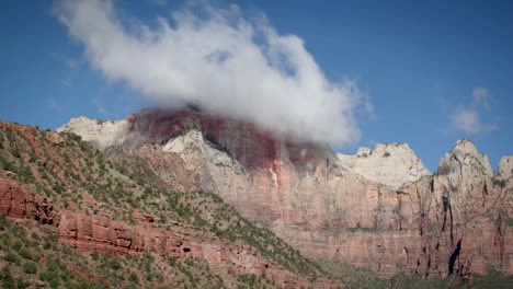 Clouds-hang-low-over-a-mountain-top