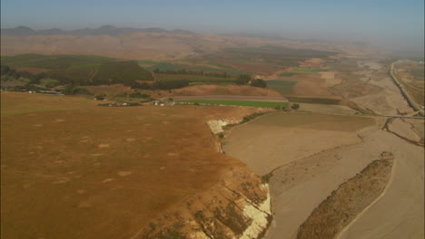 Helicopter-aerial-of-the-Santa-Maria-Valley-California