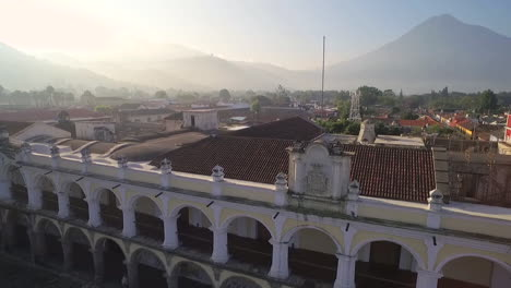 Beautiful-aerial-shot-over-the-colonial-Central-American-city-of-Antigua-Guatemala-11