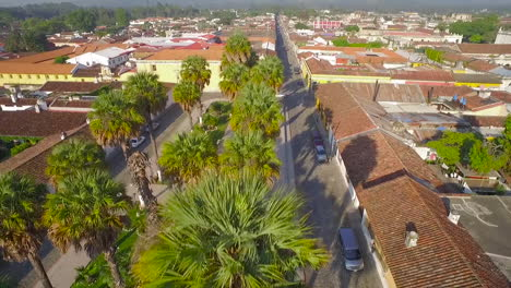 Beautiful-aerial-shot-over-the-colonial-Central-American-city-of-Antigua-Guatemala-12