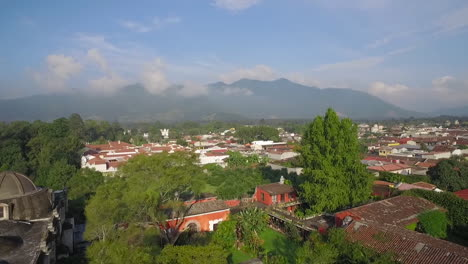 Beautiful-aerial-shot-over-the-colonial-Central-American-city-of-Antigua-Guatemala-15