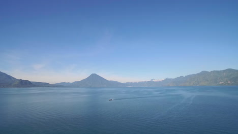 Aerial-over-Lake-Amatitlan-in-Guatemala-reveals-the-Pacaya-Volcano-1