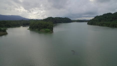 An-aerial-over-a-small-village-on-the-Rio-Dulce-River-in-Guatemala-3