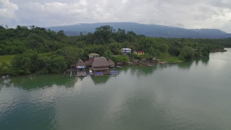 An-aerial-over-a-small-village-on-the-Rio-Dulce-River-in-Guatemala-5