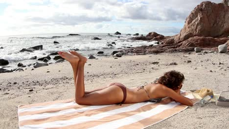 Woman-Relaxing-on-Beach-0-29