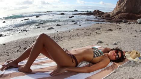 Woman-Relaxing-on-Beach-0-31