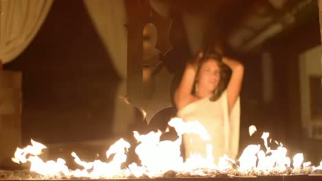 Woman-Relaxing-Dancing-Fire-133