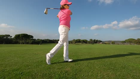 Elderly-Lady-Golf-33