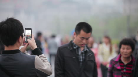 Huge-crowds-walk-on-the-streets-of-modern-day-China-7