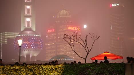 La-Niebla-Envuelve-El-Horizonte-De-Shanghai-China