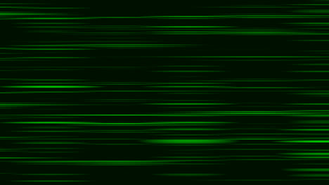 Looping-animation-of-green-and-black-horizontal-lines-oscillating