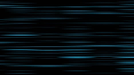 Looping-animation-of-aqua-and-black-horizontal-lines-oscillating