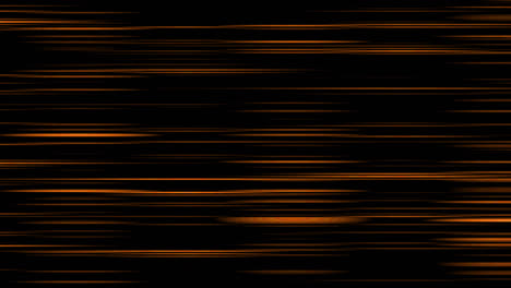 Looping-animation-of-orange-and-black-horizontal-lines-oscillating