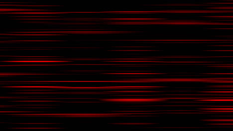 Looping-animation-of-red-and-black-horizontal-lines-oscillating