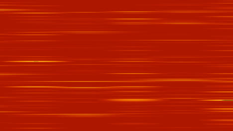 Looping-animation-of-red-and-yellow-horizontal-lines-oscillating