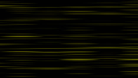 Looping-animation-of-black-and-yellow-horizontal-lines-oscillating