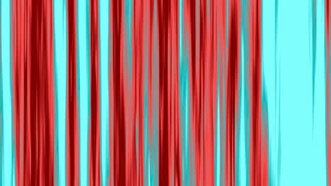 Looping-animation-of-aqua-and-red-vertical-lines-oscillating