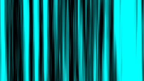 Looping-animation-of-aqua-and-black-vertical-lines-oscillating