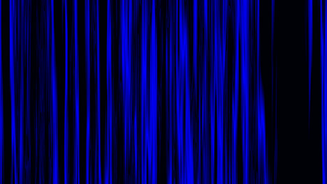 Looping-animation-of-black-and-blue-vertical-lines-oscillating