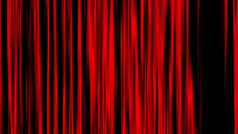 Looping-animation-of-black-and-red-vertical-lines-oscillating