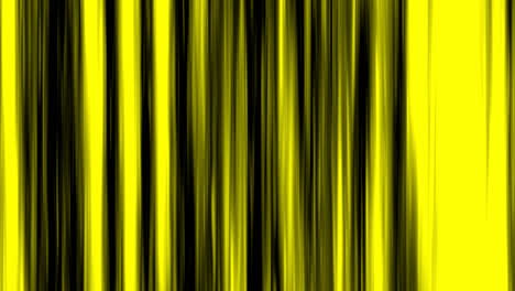 Looping-animation-of-black-and-yellow-vertical-lines-oscillating