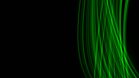 Looping-animation-of-green-light-rays