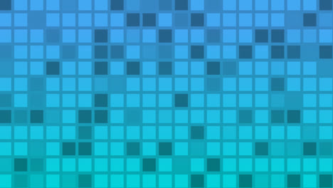 Looping-animation-of-blue-and-aqua-colored-tiles-change-color-and-pattern