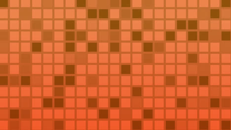 Looping-animation-of-red-and-yellow-colored-tiles-change-color-and-pattern