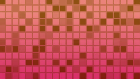 Looping-animation-of-red-and-purple-colored-tiles-change-color-and-pattern
